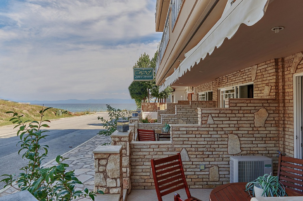 agni hotel on the beach sarti sithonia 2 3 bed studio ground floor2 3 bed studio ground floor 2