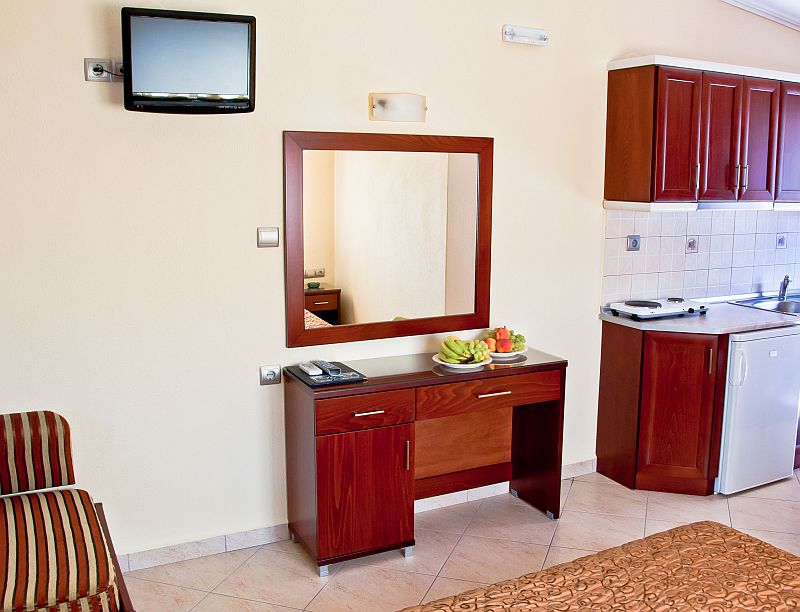 agni hotel on the beach sarti sithonia 2 3 bed studio upper floor 8
