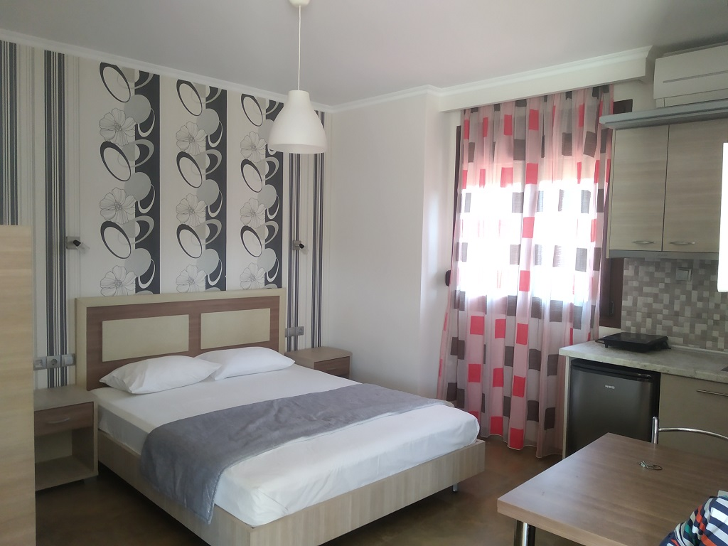 anthemida studios and apartments sykia sithonia 4 bed studio bunk beds 2
