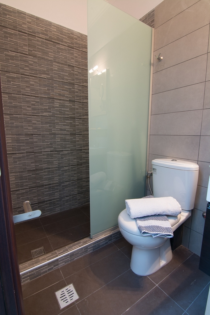 anthemida studios and apartments sykia sithonia bathroom 4