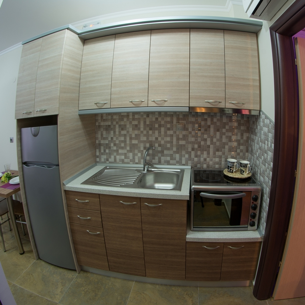 anthemida studios and apartments sykia sithonia kitchen 3