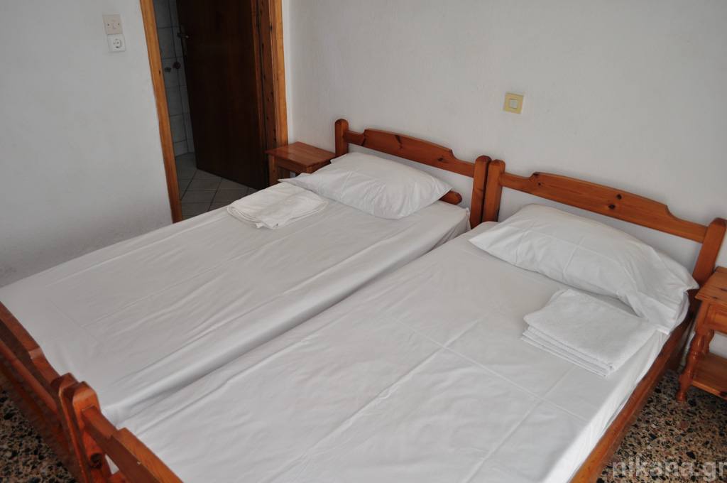 anna rooms potos thassos 2 bed room 1st floor #8  (5)